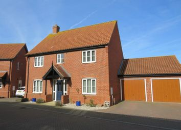 Thumbnail 4 bedroom detached house for sale in Copsey Walk, Dereham