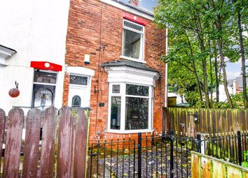 Thumbnail 3 bed end terrace house for sale in Fernleigh Villas, Lee Street, Hull, East Yorkshire