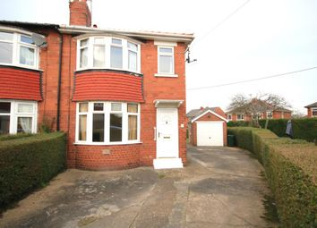 Thumbnail 3 bedroom semi-detached house to rent in Ingle Grove, Sprotbrough, Doncaster