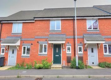 Thumbnail 2 bed terraced house for sale in Crossbill Close, Norwich