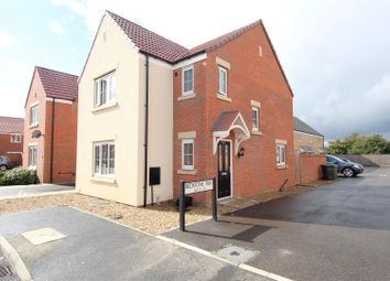 Thumbnail 3 bed detached house for sale in Bedstone Way, Farcet, Peterborough