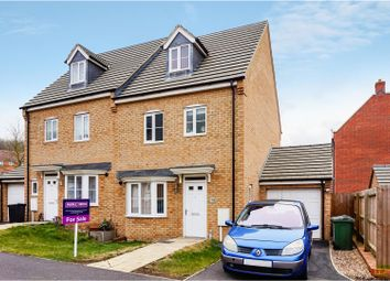 Thumbnail 4 bed semi-detached house for sale in Scarsdale Way, Grantham