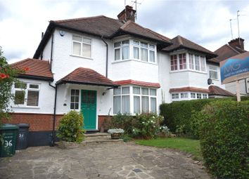 Thumbnail 5 bedroom semi-detached house for sale in Finchley Way, West Finchley, London