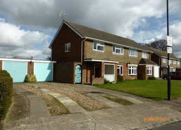 Thumbnail 3 bed semi-detached house to rent in Applefield, Crawley