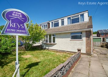 Thumbnail 3 bed semi-detached bungalow for sale in Haven Crescent, Werrington, Stoke-On-Trent