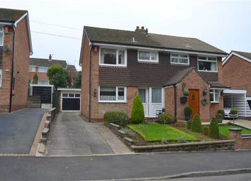 Thumbnail 3 bed semi-detached house for sale in Hillside Road, Cheddleton, Leek