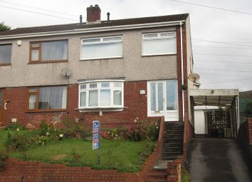 Thumbnail 3 bed semi-detached house for sale in Christopher Road, Ynysforgan, Swansea.