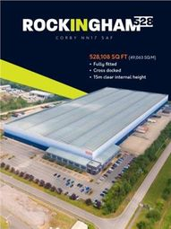 Thumbnail Warehouse to let in Rockingham 528, Mitchell Road, Corby, Northamptonshire