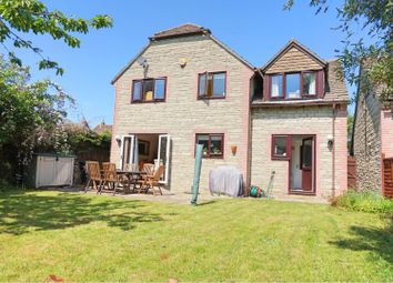 Thumbnail 4 bed detached house for sale in Gas Lane, Swindon