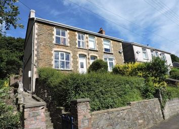 Thumbnail 4 bed semi-detached house for sale in Cilmaengwyn Road, Pontardawe, Swansea
