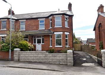 Thumbnail 3 bedroom semi-detached house for sale in Irwin Crescent, Ballyhackamore, Belfast