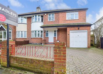 Thumbnail 4 bed semi-detached house for sale in Broke Farm Drive, Orpington, Pratts Bottom, Kent