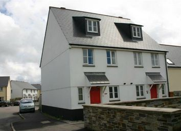 Thumbnail 3 bedroom town house to rent in Tregoning Drive, St Austell, Cornwall