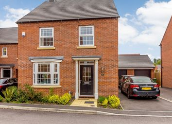 Thumbnail 4 bed detached house for sale in Farriers Avenue, Leicester, Leicester