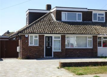 Thumbnail 4 bed semi-detached bungalow for sale in 22 Minterne Avenue, South-Sittingbourne, Kent