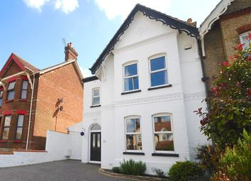 Thumbnail 4 bed semi-detached house for sale in Wimborne Road, Oakdale, Poole