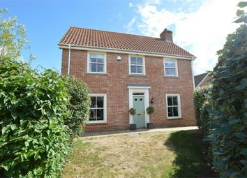 Thumbnail 4 bed detached house for sale in Vanguard Chase, Costessey, Norwich, Norfolk