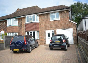 Thumbnail 4 bed semi-detached house to rent in Merland Rise, Epsom
