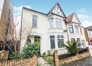 Thumbnail 3 bed semi-detached house for sale in Inverness Avenue, Westcliff-On-Sea
