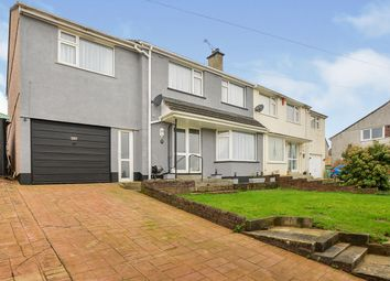 4 bed semi-detached house for sale in Rospeath Crescent, Plymouth, Devon PL2