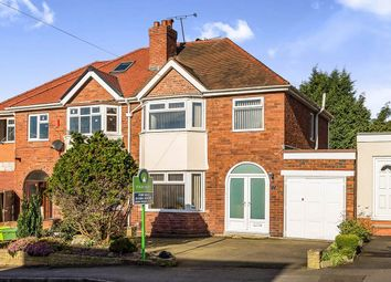 Thumbnail 3 bedroom semi-detached house for sale in Dingle Road, Oakham, Dudley