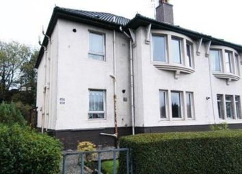Thumbnail 2 bed flat for sale in Rowan Street, Paisley