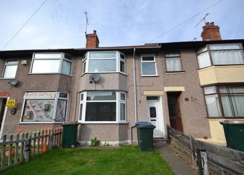 Thumbnail 3 bedroom terraced house to rent in Cedars Avenue, Coventry