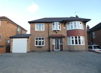 Thumbnail 4 bed detached house for sale in Sandringham Avenue, Burton-On-Trent, Staffordshire