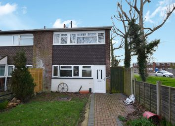 Thumbnail 3 bed terraced house for sale in Longmynd Drive, Fareham, Hampshire