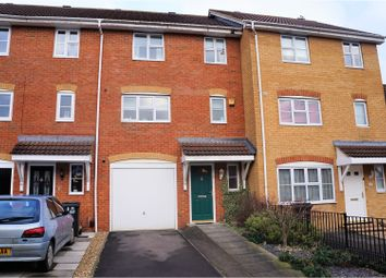 Thumbnail 3 bedroom town house for sale in Waggoner Close, Swindon