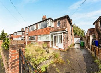 Thumbnail 3 bed semi-detached house for sale in Queensway, East Didsbury, Manchester