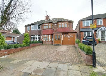 Thumbnail 5 bed semi-detached house for sale in Silverdale, Enfield