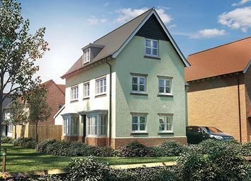 Thumbnail 4 bed detached house for sale in Terlings Park, Eastwick Road, Gilston, Essex