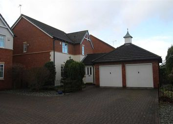 Thumbnail 4 bed detached house for sale in Goldthorpe Close, Northburn Manor, Cramlington