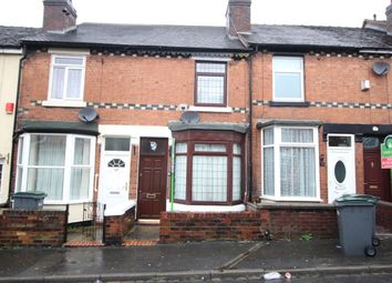 Thumbnail 2 bed terraced house to rent in Dartmouth Street, Burslem, Stoke-On-Trent