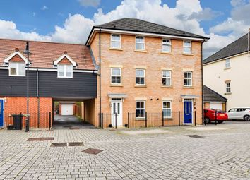 Thumbnail 3 bed town house for sale in Egdon Close, Swindon