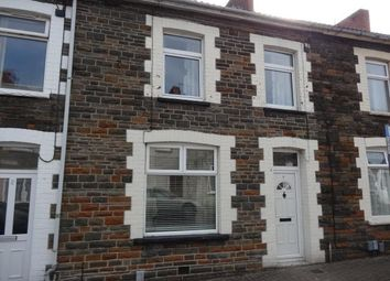 Thumbnail 1 bed terraced house to rent in Queen Street, Treforet, Pontypridd