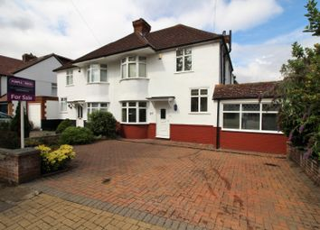 Thumbnail 4 bed semi-detached house for sale in Crescent Drive, Orpington
