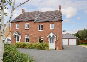 Thumbnail 3 bed semi-detached house for sale in Glovers Lane, Raunds