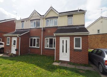 Thumbnail 3 bed semi-detached house to rent in Maldon Drive, Victoria Dock, Hull, East Yorkshire