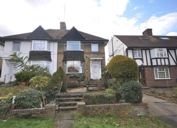 Thumbnail 3 bed semi-detached house to rent in Greyhound Hill, London