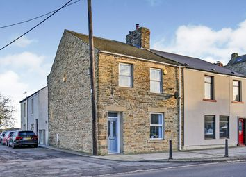 Thumbnail 3 bed end terrace house for sale in Dans Castle, Tow Law, Bishop Auckland, Durham