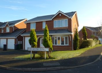 Thumbnail 4 bedroom detached house to rent in Porchester Close, Leegomery, Telford