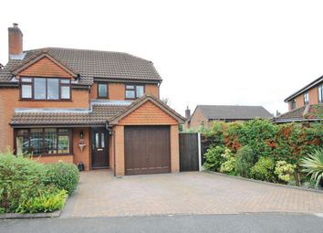 Thumbnail 4 bed detached house for sale in Doeford Close, Culcheth, Cheshire