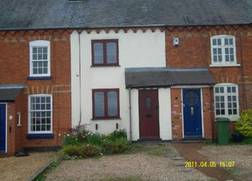 Thumbnail 2 bed terraced house to rent in Mill Lane, Enderby, Leicester