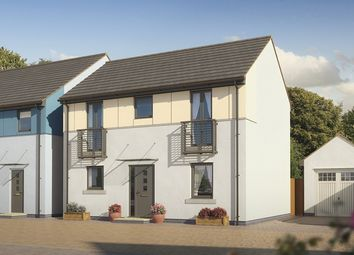 "Thumbnail 3 bed semi-detached house for sale in ""The Coleridge"" at Pomphlett Farm Industrial, Broxton Drive, Plymouth"