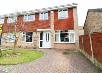 Thumbnail 4 bedroom semi-detached house for sale in Dunoon Close, Ingol, Preston