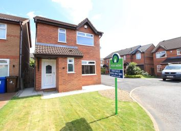 Thumbnail 3 bed detached house for sale in Dewberry Close, Tyldesley, Manchester