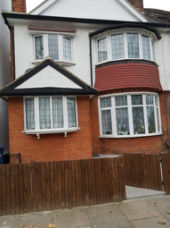 Thumbnail 1 bed flat to rent in Sneath Avenue, London