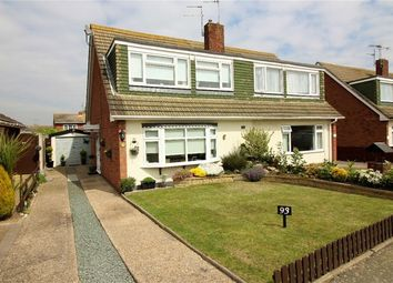 Thumbnail 3 bed semi-detached house for sale in Fleetwood Avenue, Holland On Sea, Clacton On Sea